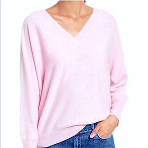 NWOT Light Pink Cashmere Sweater